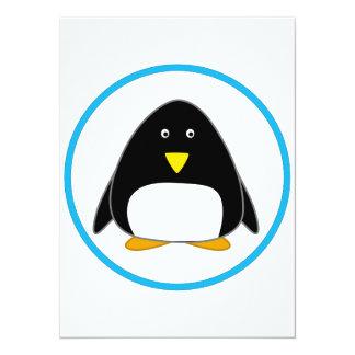 Pingouin mignon faire-parts