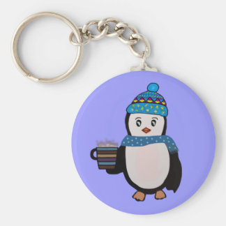 Pingouin mignon Keychain Porte-clef