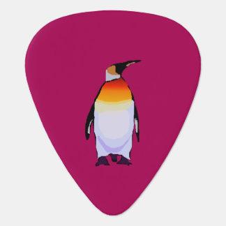 Pingouin rouge-foncé onglet de guitare