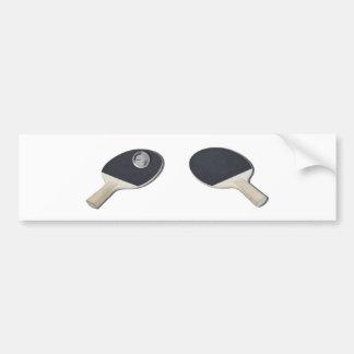 PingPongGlobe052711 Bumper Sticker