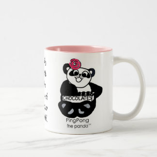 PINGPONG's SWEET TOOTH LAW Two-Tone Coffee Mug