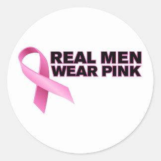 pink_06 classic round sticker