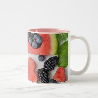 Pink 11 oz Two-Tone Mug