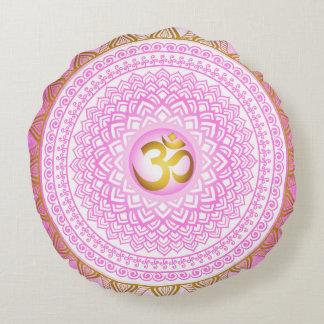 Pink 7th Chakra, Sahasrana Pink Pillow