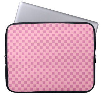 Pink Abstract Design Laptop Sleeve