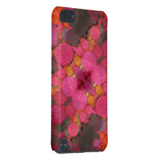 Pink Abstract iPod Touch 5G Case