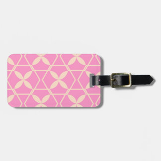Pink Abstract Pattern by storeman Bag Tag