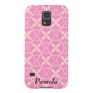 Pink Abstract Pattern by storeman Galaxy S5 Cases