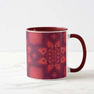 Pink Abstract Pattern Mug