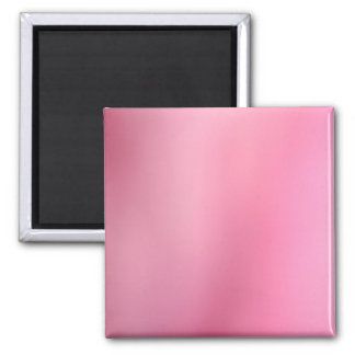 Pink Abstract Square Magnet
