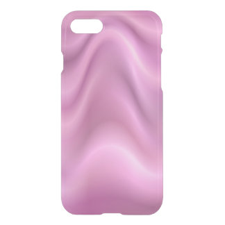 Pink abstract waves iPhone 7 case