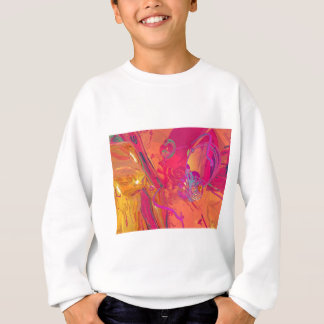 PINK ABSTRACTION SWEATSHIRT