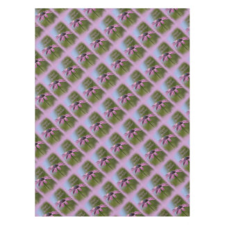 Pink African Daisy Happy Birthday Tablecloth