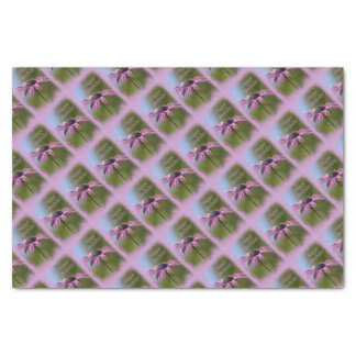 Pink African Daisy Happy Birthday Tissue Paper