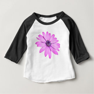 Pink Afrıcan Daisy With Transparent Background Baby T-Shirt