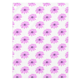 Pink Afrıcan Daisy With Transparent Background Tablecloth