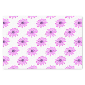 Pink Afrıcan Daisy With Transparent Background Tissue Paper