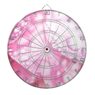 Pink after rain dart boards