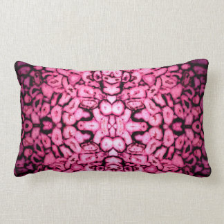pink Agates Lumbar Pillow