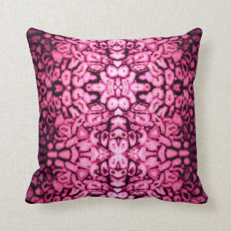 pink Agates Throw Pillow