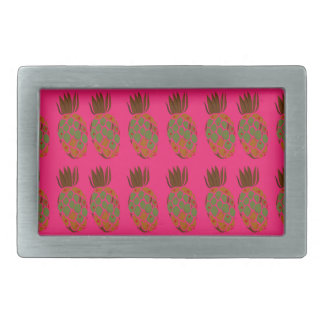 Pink ananas cute belt buckles