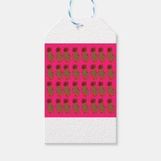 Pink ananas cute gift tags