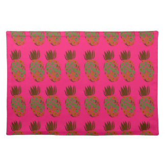 Pink ananas cute placemat