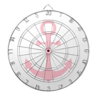 Pink Anchor Dartboard