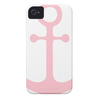 Pink Anchor iPhone 4 Case