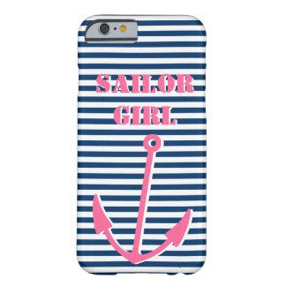 Pink anchor iPhone 6 case | Sailor girl
