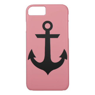 Pink Anchor iPhone Case
