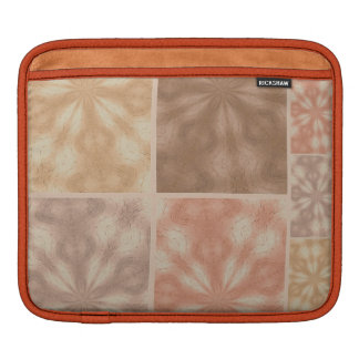 Pink And Beige  Pattern Sleeve For iPads
