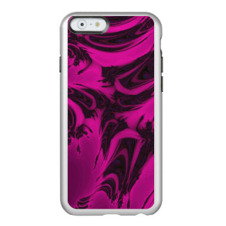 Pink and black fractal incipio feather® shine iPhone 6 case