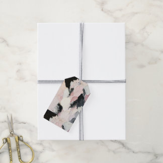 Pink and Black Gift Tags