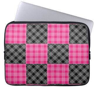 Pink and Black Plaid Case