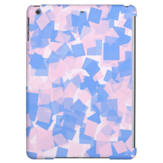 Pink and Blue Confetti Case For iPad Air