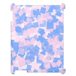 Pink and Blue Confetti Cover For The iPad