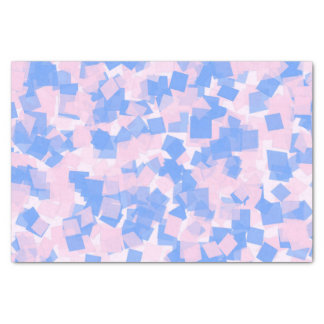 Pink and Blue Confetti Tissue Paper
