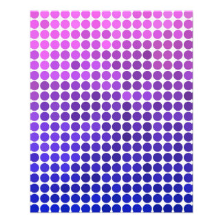 Pink and Blue Dots Flyer