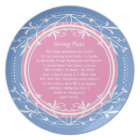 Pink and Blue Friendship Plate to Share