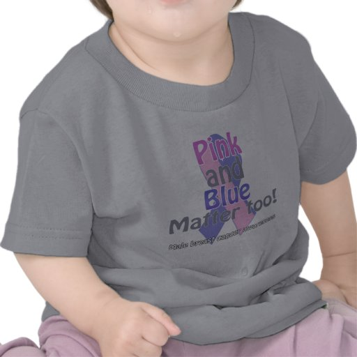 Pink and Blue matter too T-shirts