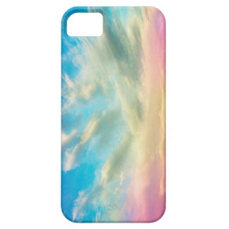 Pink and Blue Sky iPhone 5 Covers