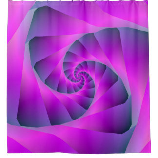 Pink and Blue Spiral