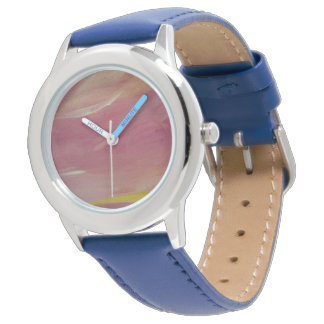 Pink and Blue watch