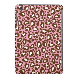 Pink and Brown Leopard Spotted Animal Print iPad Mini Case