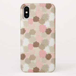 Pink And Brown Mum Pattern Case-Mate iPhone Case