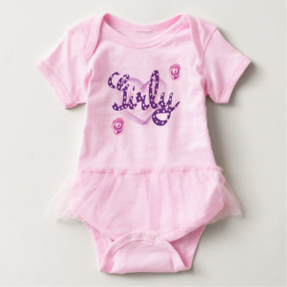 Pink and Girly Baby Bodysuit