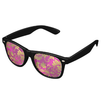 Pink and Gold Damask Party Shades
