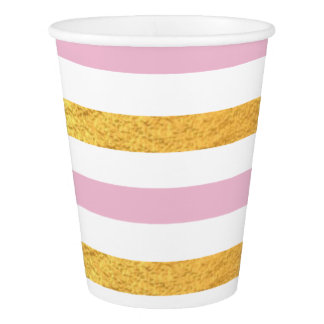 Pink and Gold Party Cup