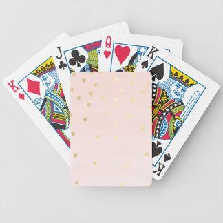Pink and Gold Card Decks